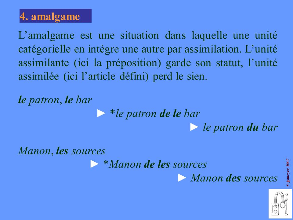 4. amalgame