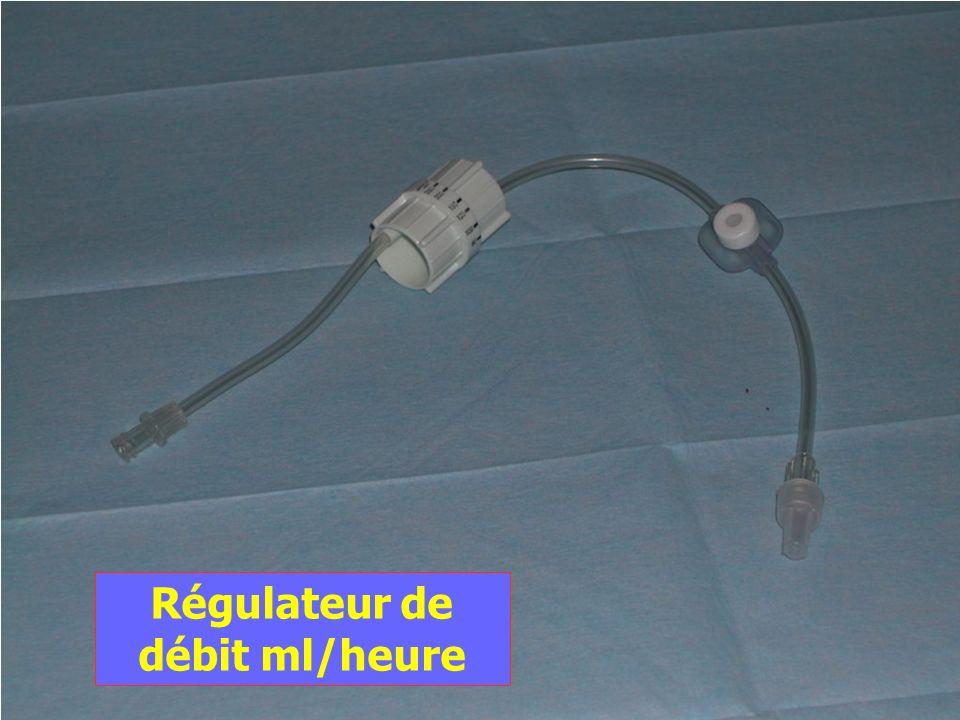 Régulateur de débit ml/heure