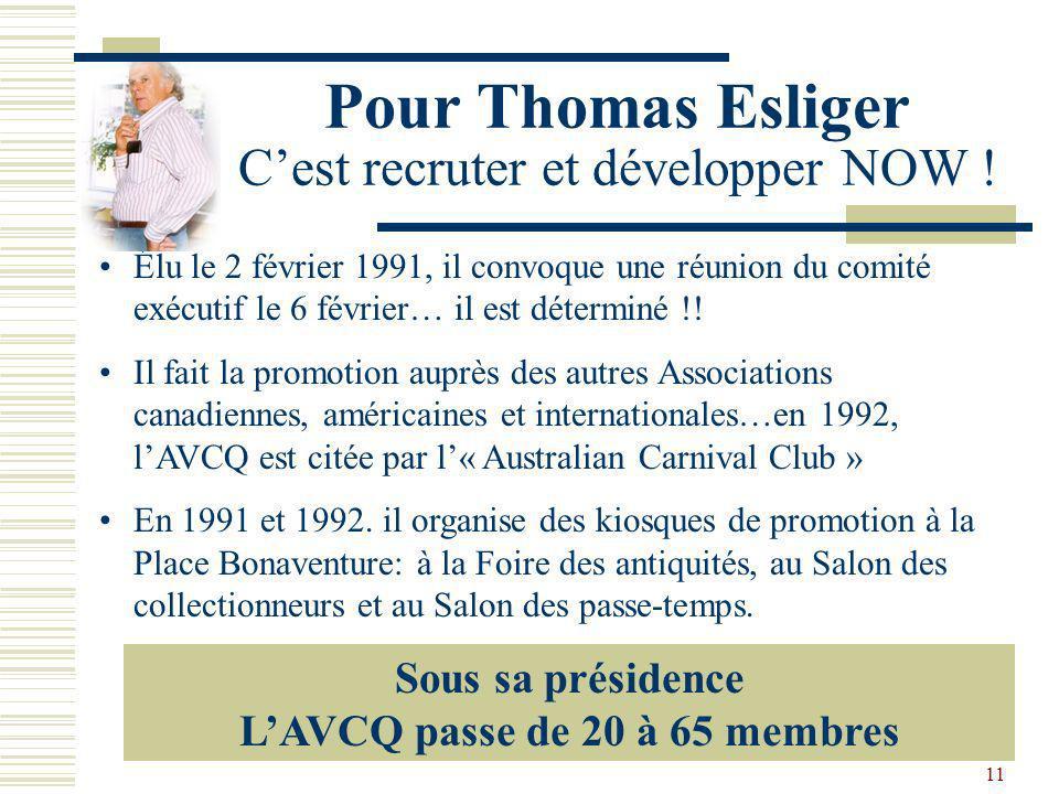 Pour Thomas Esliger C'est recruter et développer NOW !