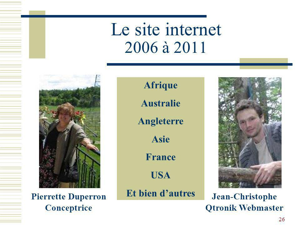 Jean-Christophe Qtronik Webmaster