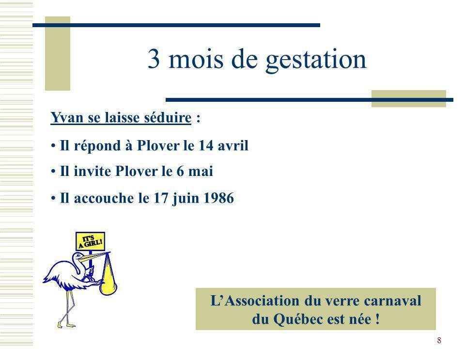 L'Association du verre carnaval du Québec est née !