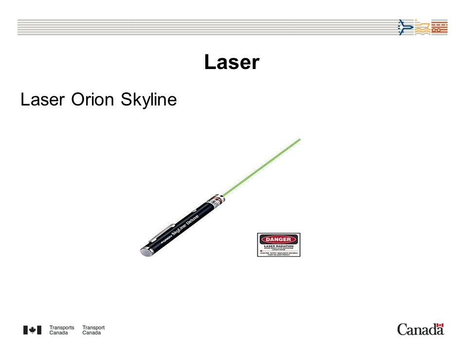 Laser Laser Orion Skyline