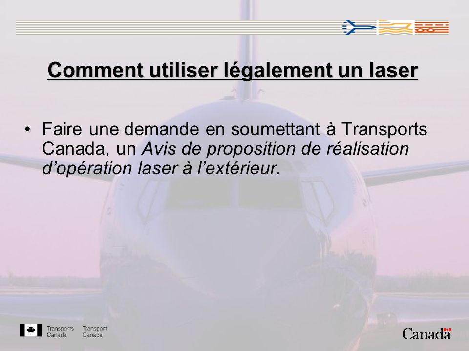Comment utiliser légalement un laser