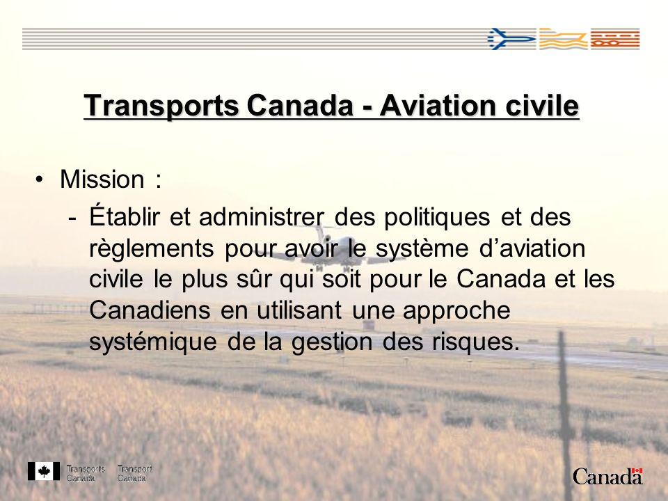 Transports Canada - Aviation civile