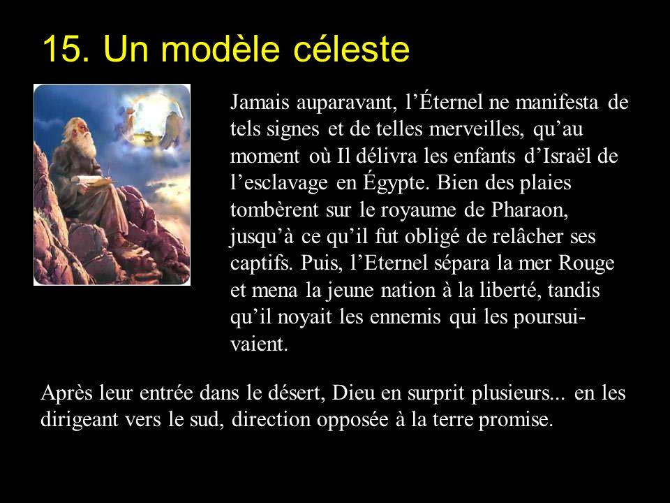 15. Un modèle céleste