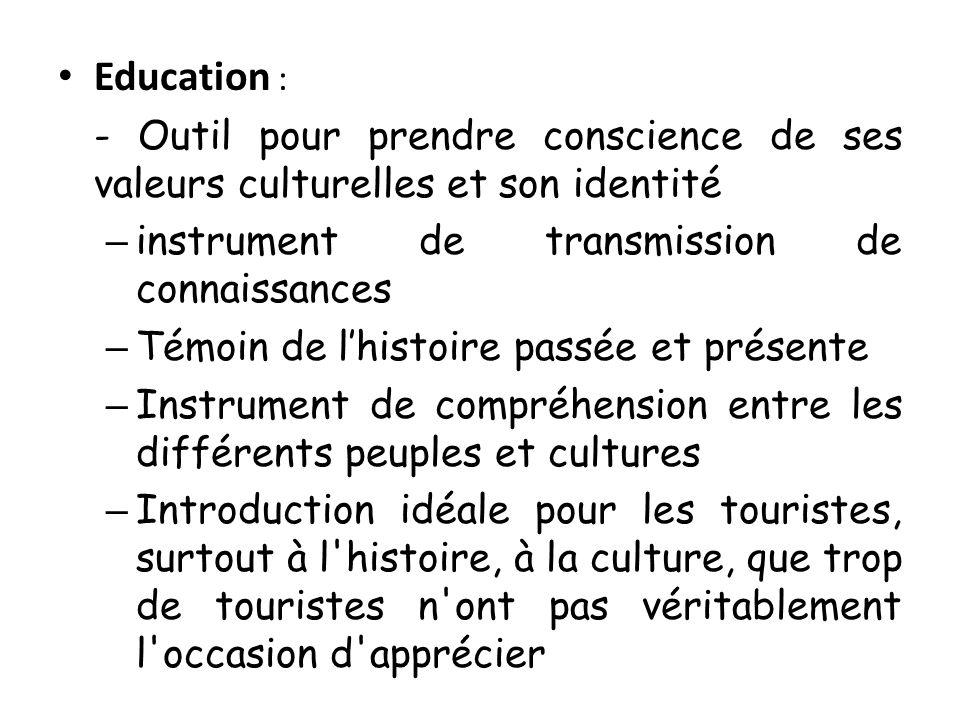 Education : instrument de transmission de connaissances