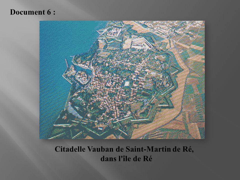Citadelle Vauban de Saint-Martin de Ré,