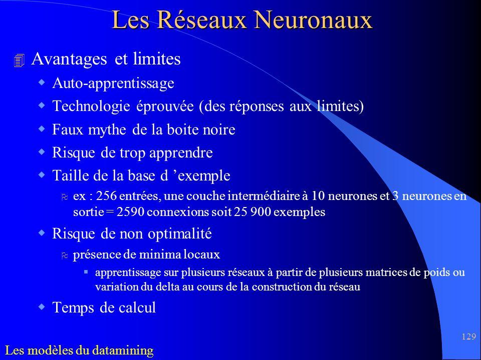 Les Réseaux Neuronaux Avantages et limites Auto-apprentissage