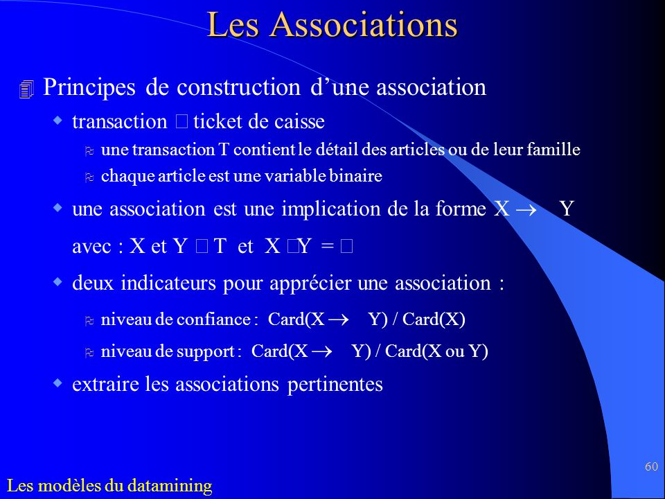 Les Associations Principes de construction d'une association