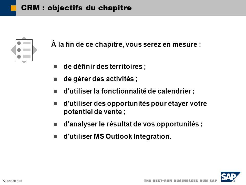 CRM : objectifs du chapitre