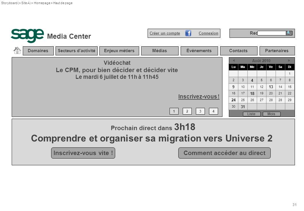 Comprendre et organiser sa migration vers Universe 2