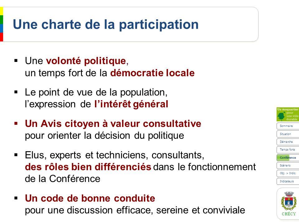 Une charte de la participation