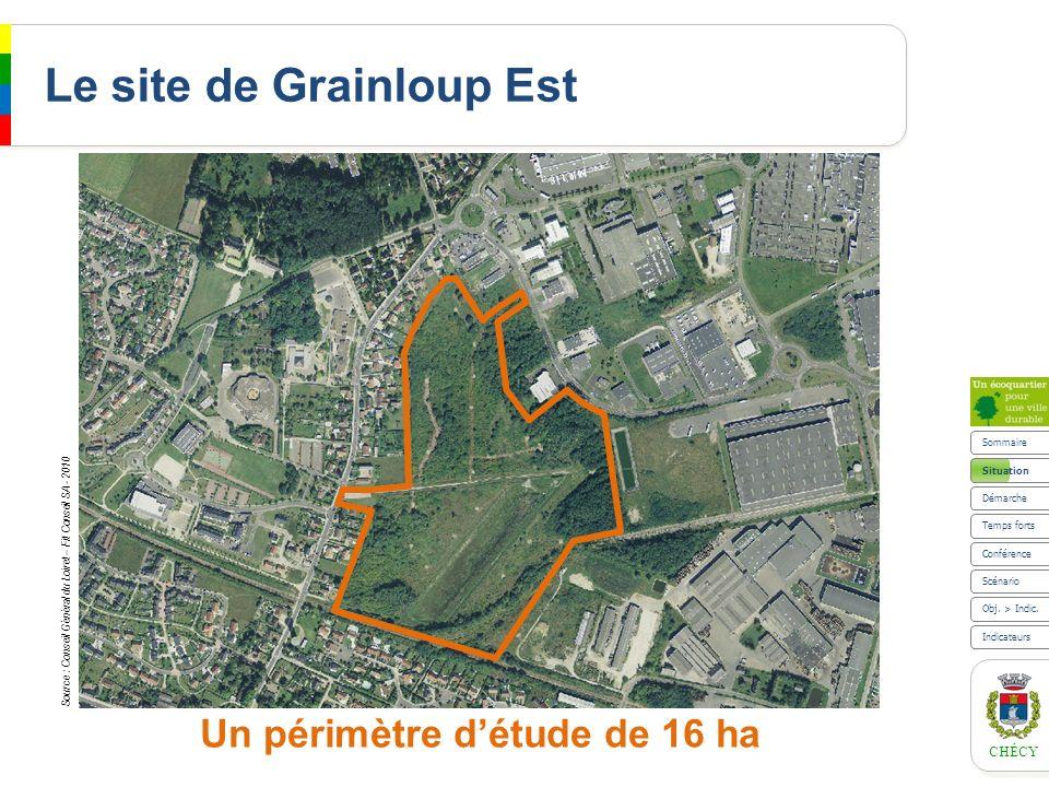 Le site de Grainloup Est