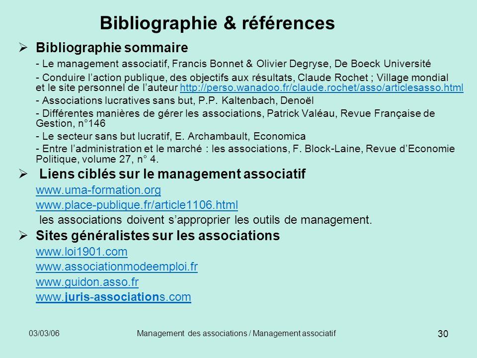 Bibliographie & références