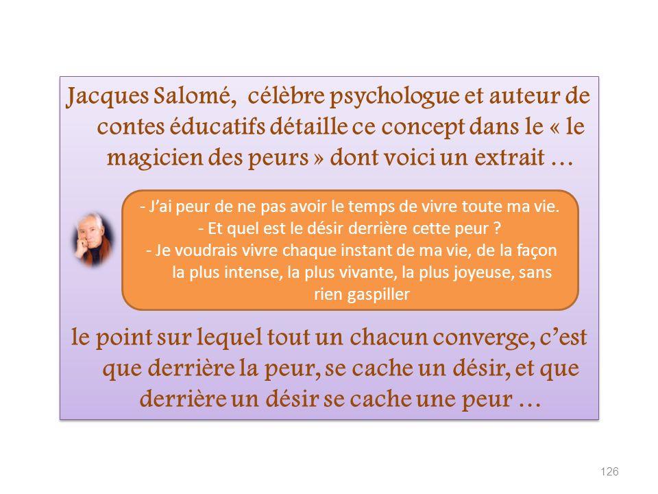 Jacques Salomé, célèbre psychologue et auteur de contes éducatifs détaille ce concept dans le « le magicien des peurs » dont voici un extrait …