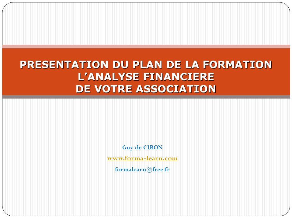 Guy de CIBON www.forma-learn.com formalearn@free.fr