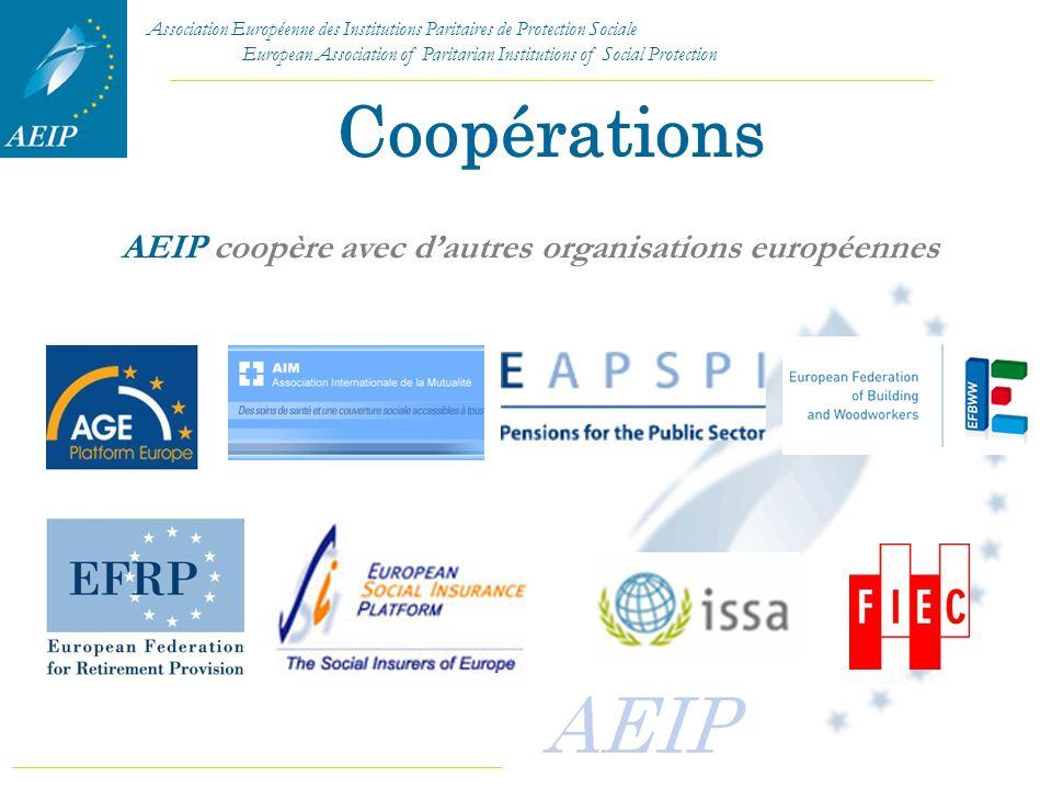 AEIP coopère avec d'autres organisations européennes
