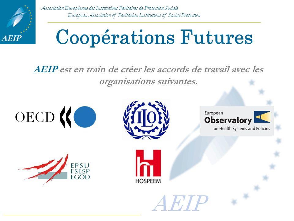 Coopérations Futures AEIP est en train de créer les accords de travail avec les organisations suivantes.