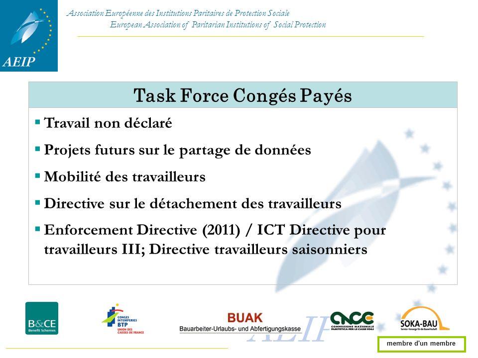 Task Force Congés Payés