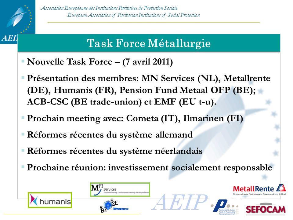 Task Force Métallurgie