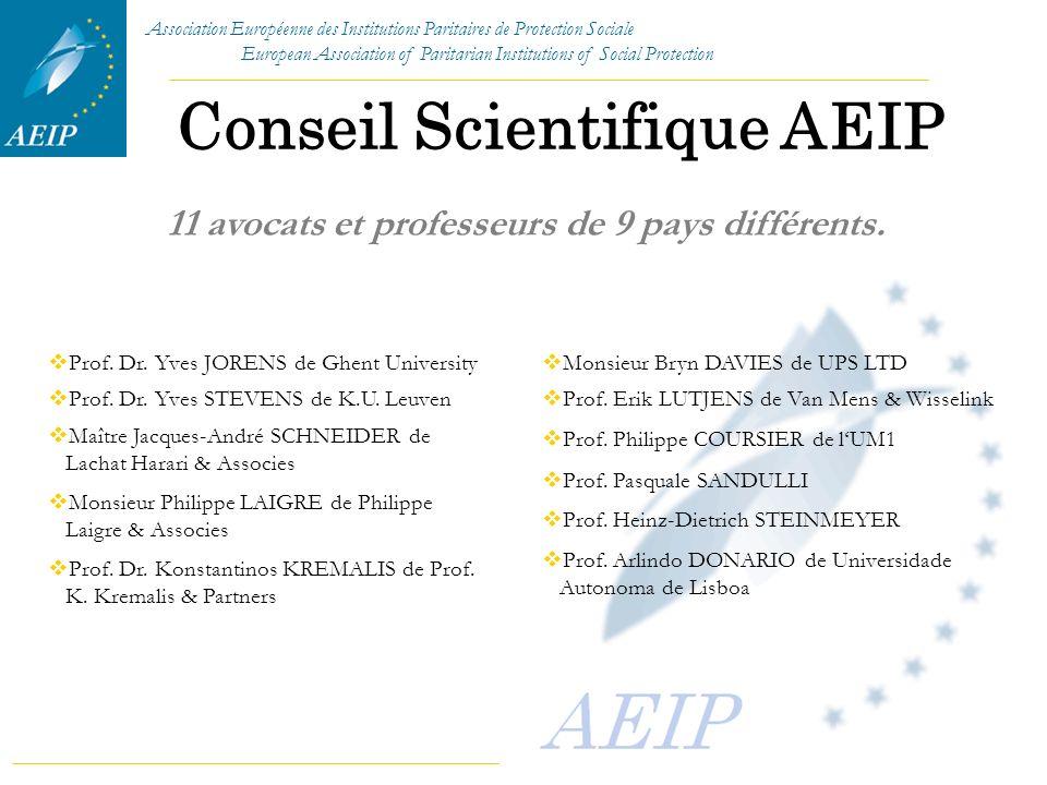 Conseil Scientifique AEIP