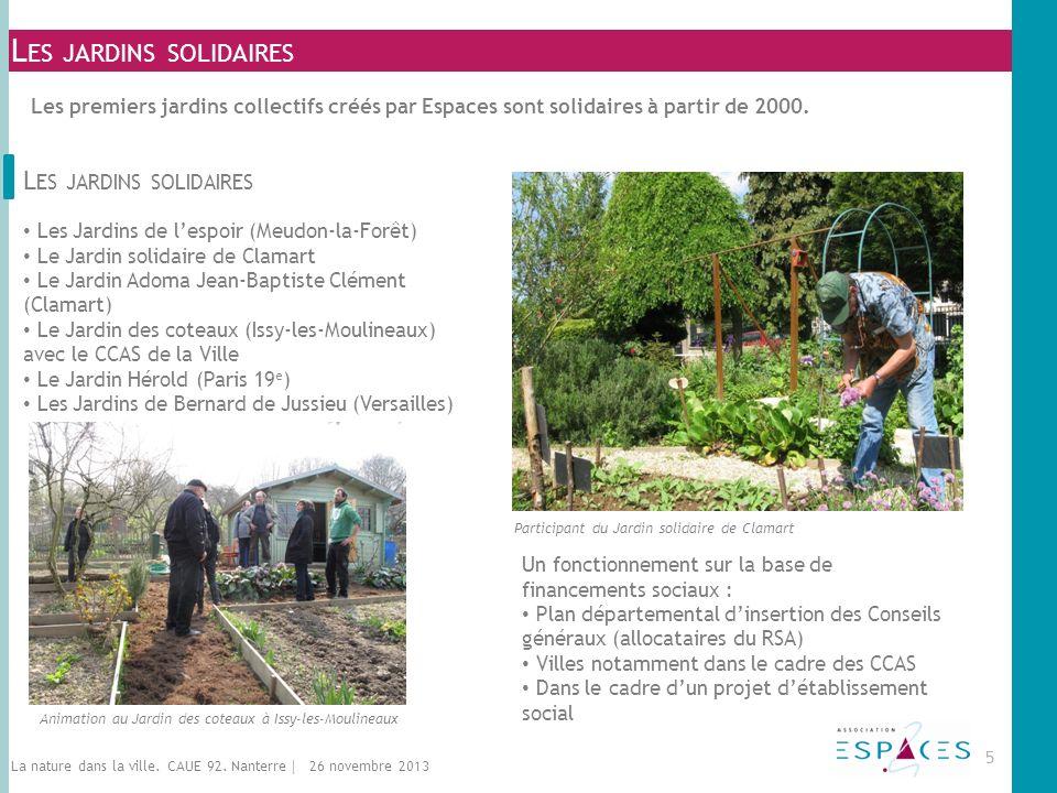 Les jardins solidaires