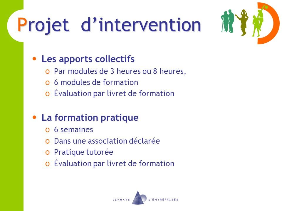 Projet d'intervention