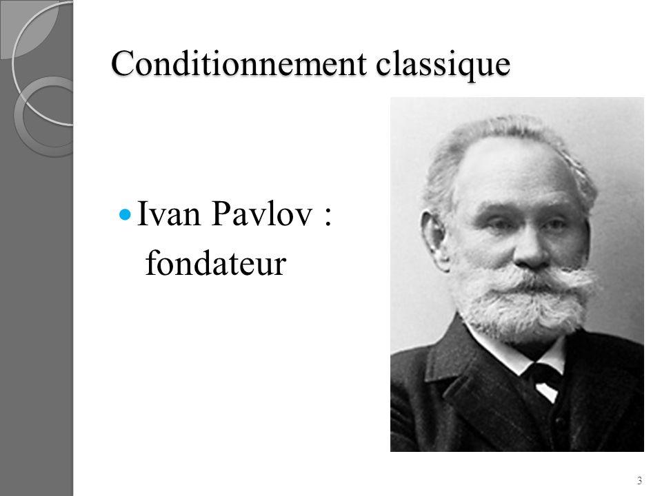 Conditionnement classique