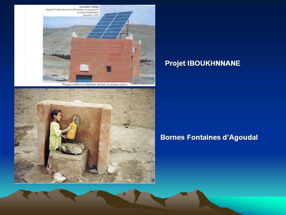 Projet IBOUKHNNANE Bornes Fontaines d'Agoudal