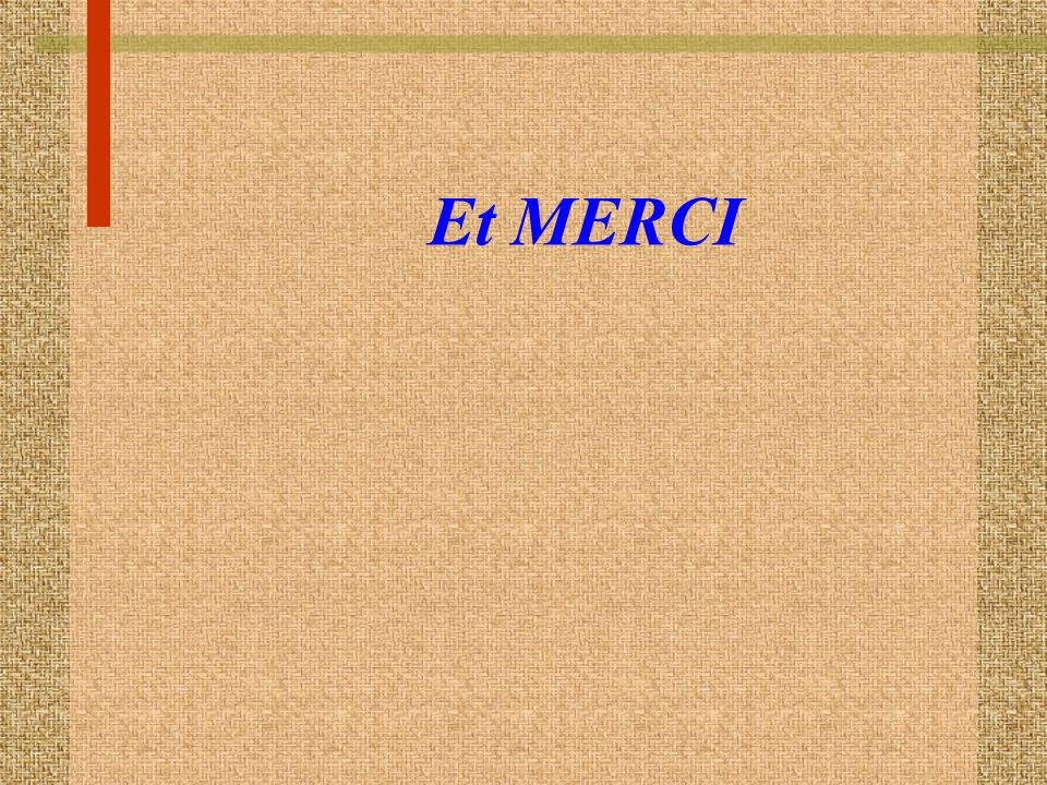 Et MERCI