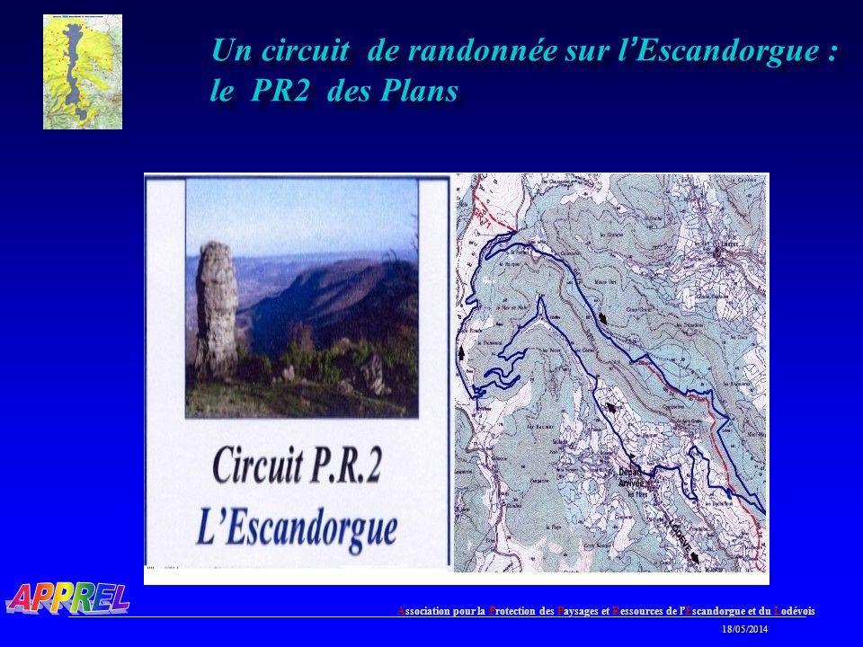 Un circuit de randonnée sur l'Escandorgue : le PR2 des Plans