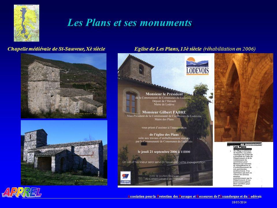 Les Plans et ses monuments
