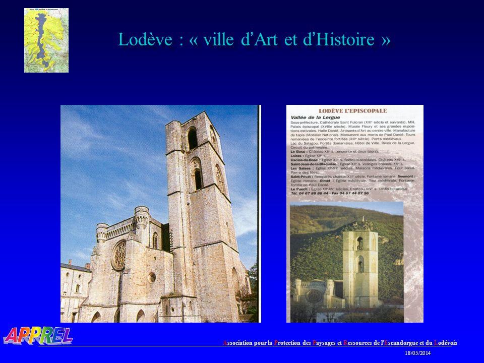 Lodève : « ville d'Art et d'Histoire »