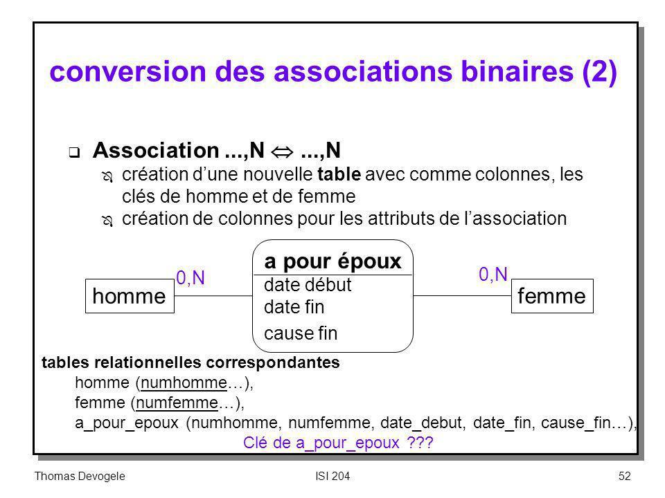 conversion des associations binaires (2)