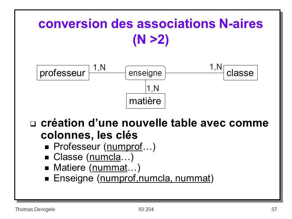 conversion des associations N-aires (N >2)
