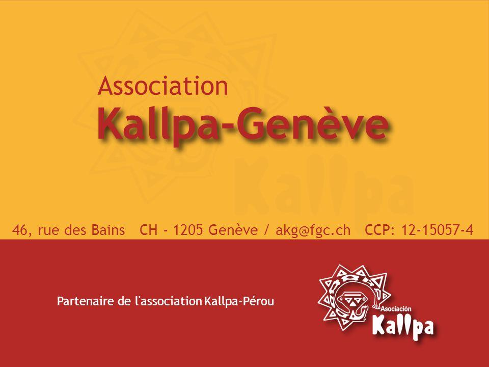46, rue des Bains CH - 1205 Genève / akg@fgc.ch CCP: 12-15057-4
