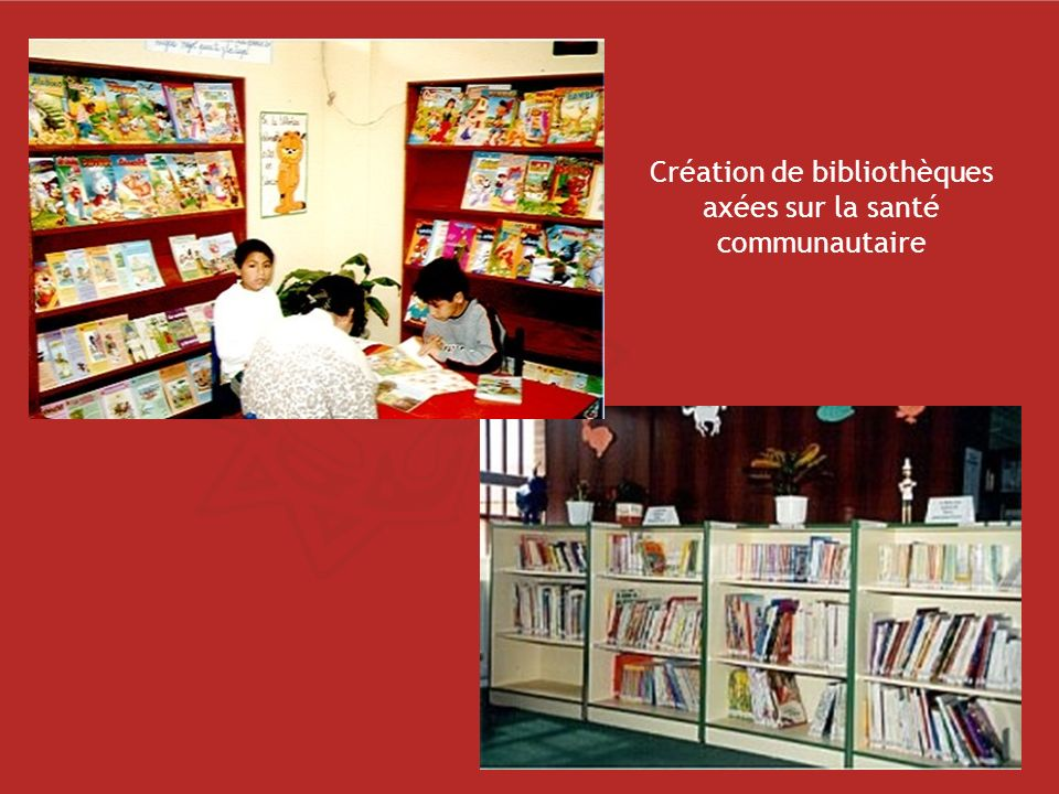 Création de bibliothèques