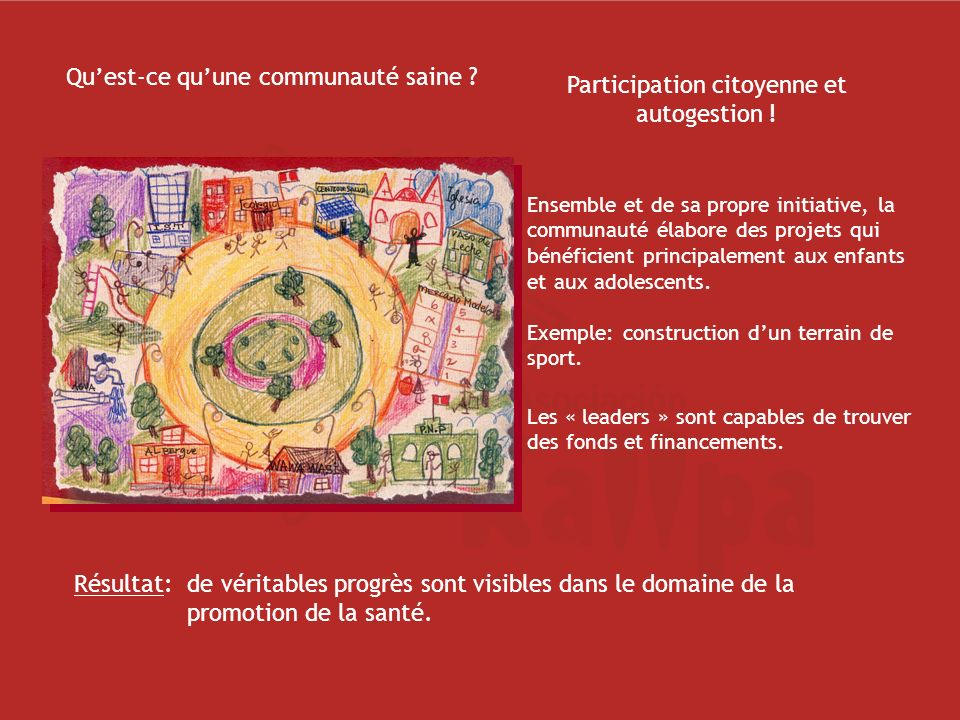 Participation citoyenne et autogestion !