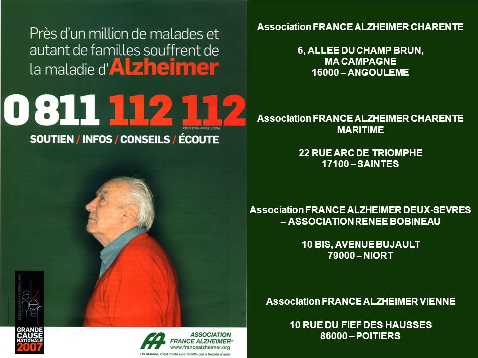 Association FRANCE ALZHEIMER CHARENTE