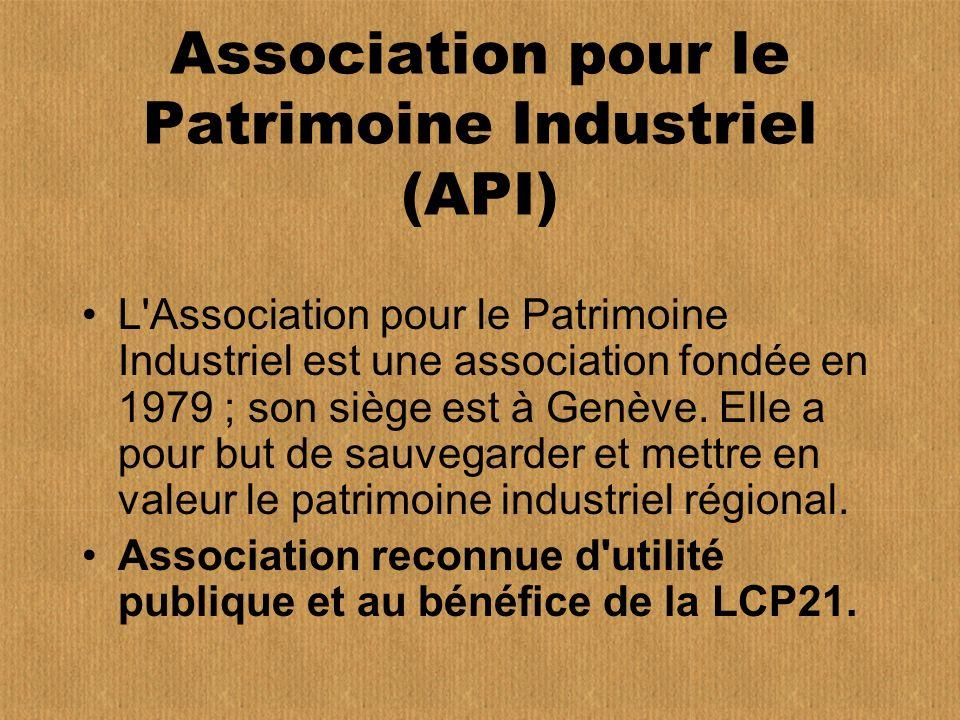 Association pour le Patrimoine Industriel (API)