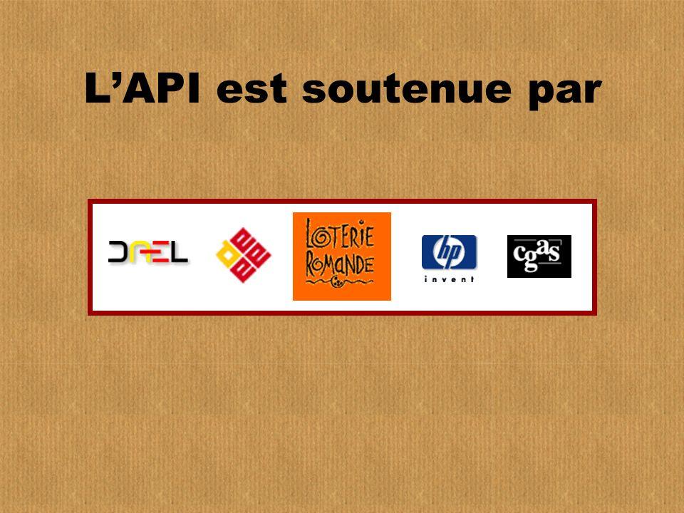 L'API est soutenue par