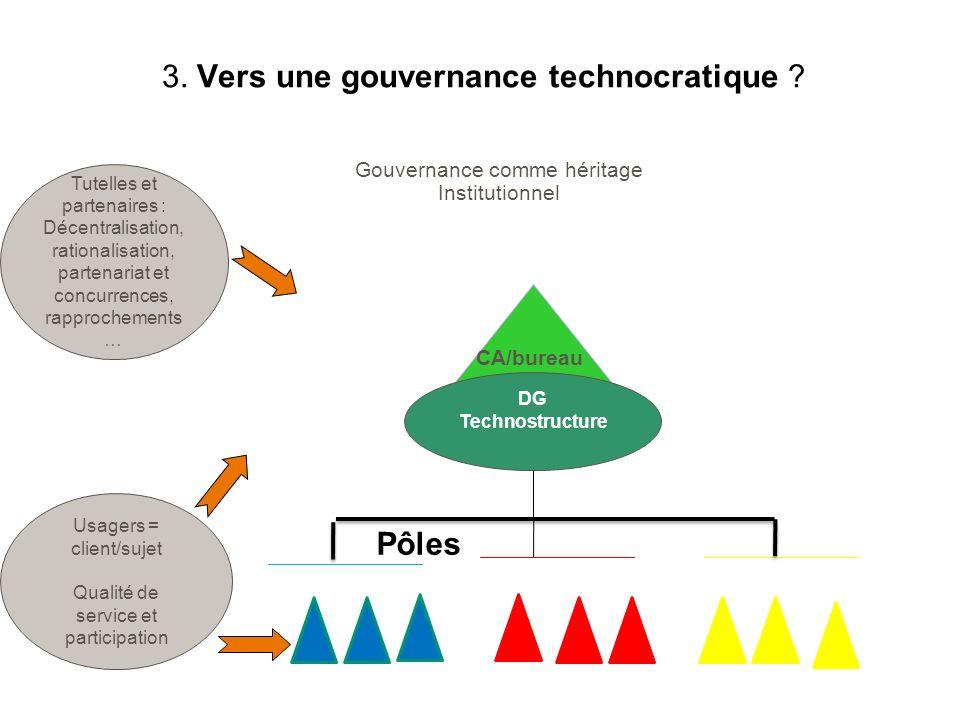 3. Vers une gouvernance technocratique