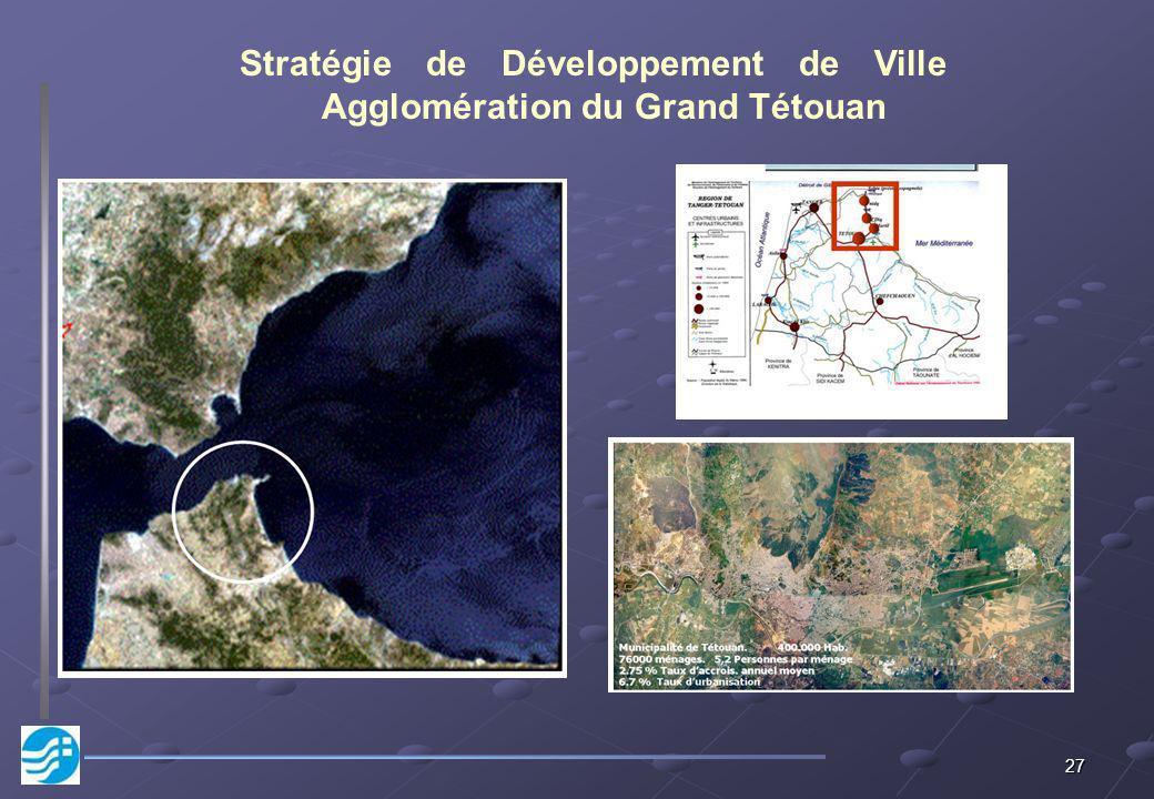 Stratégie de Développement de Ville Agglomération du Grand Tétouan