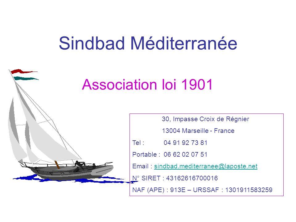 Sindbad Méditerranée Association loi 1901