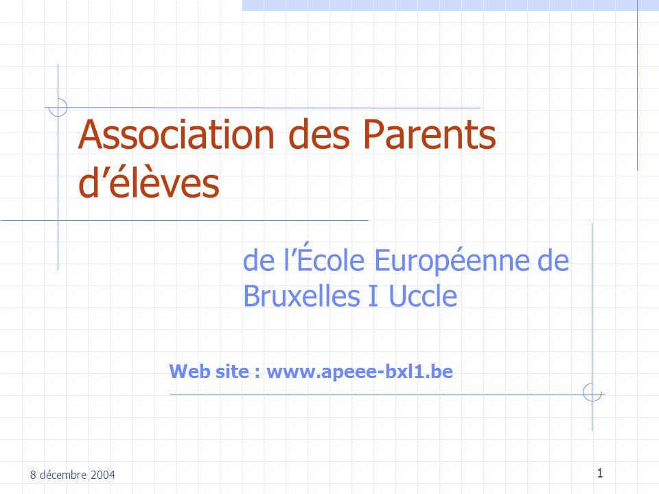 Association des Parents d'élèves