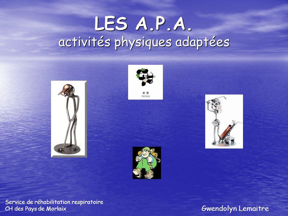 LES A.P.A. activités physiques adaptées