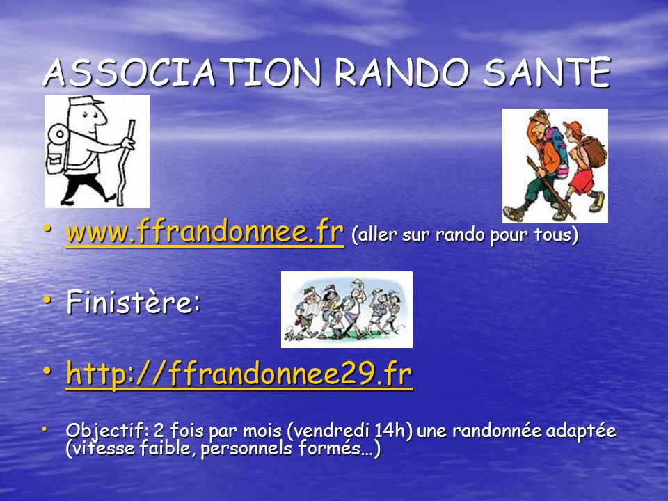 ASSOCIATION RANDO SANTE