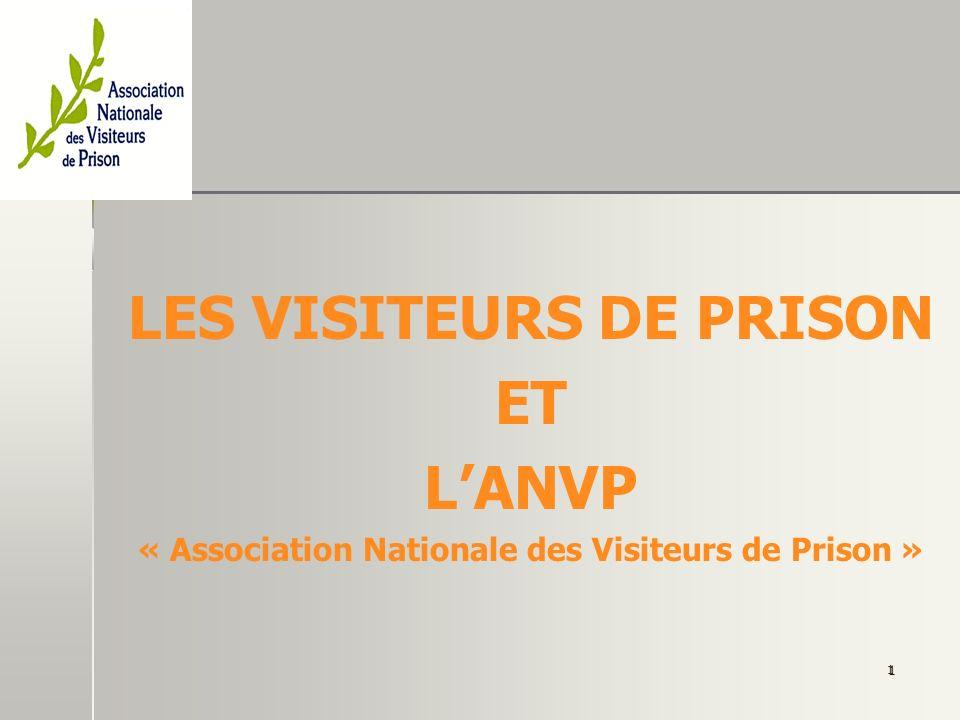 LES VISITEURS DE PRISON ET L'ANVP
