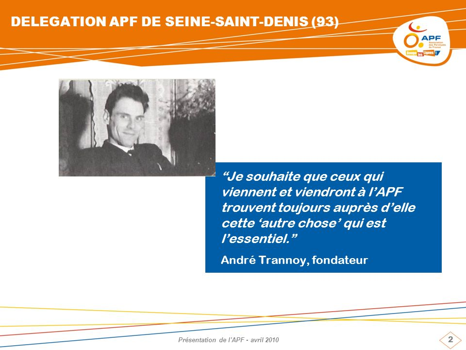 DELEGATION APF DE SEINE-SAINT-DENIS (93)