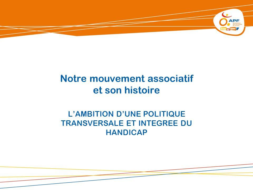 Notre mouvement associatif et son histoire